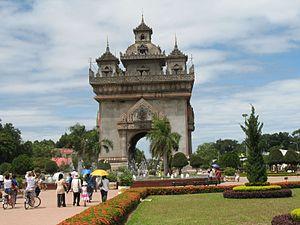 Der Patuxai - Vientiane - Laos