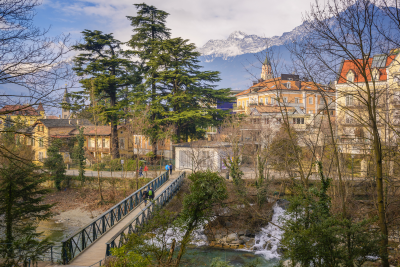 Merano, South Tyrol, Italy Datei: #77036931 | Urheber: alexanderkonsta